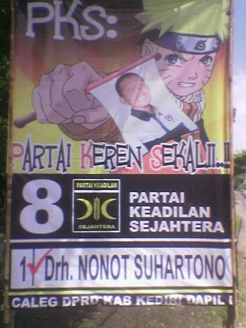 Naruto Endorses Honorable (Drh.) Nonot Suhartono for... umm... nanekore?